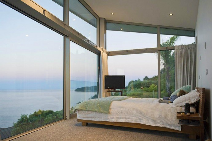 Amazing Ocean view from the bedroom. Home for sale in NZ